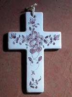 C3/ Croix à la rose manganèse